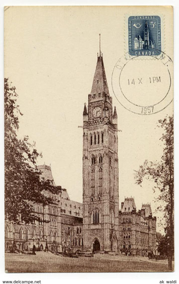 Kanada, Ottawa 1957 - Maximum Cards