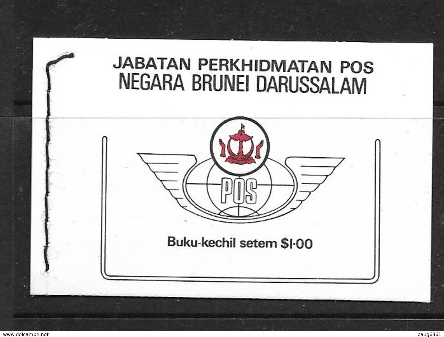 BRUNEI 1986 CARNAT SULTAN  HASSANAL BOLKIAH YVERT N°C333 NEUF MNH** - Brunei (1984-...)