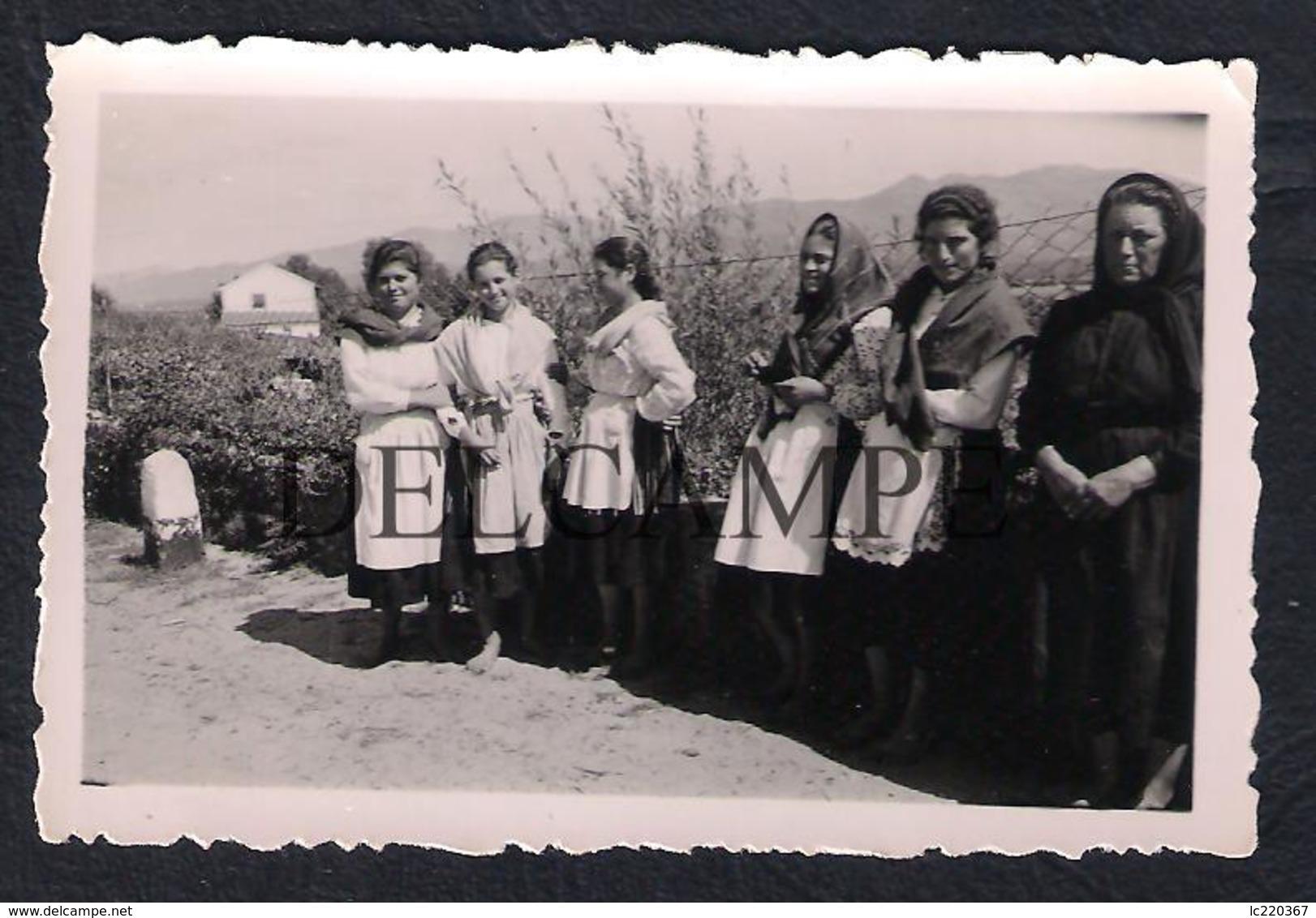 REAL PHOTO PORTUGAL PONTE DE LIMA TRAJES REGIONAIS - 1949 (É UMA FOTO) - Viana Do Castelo