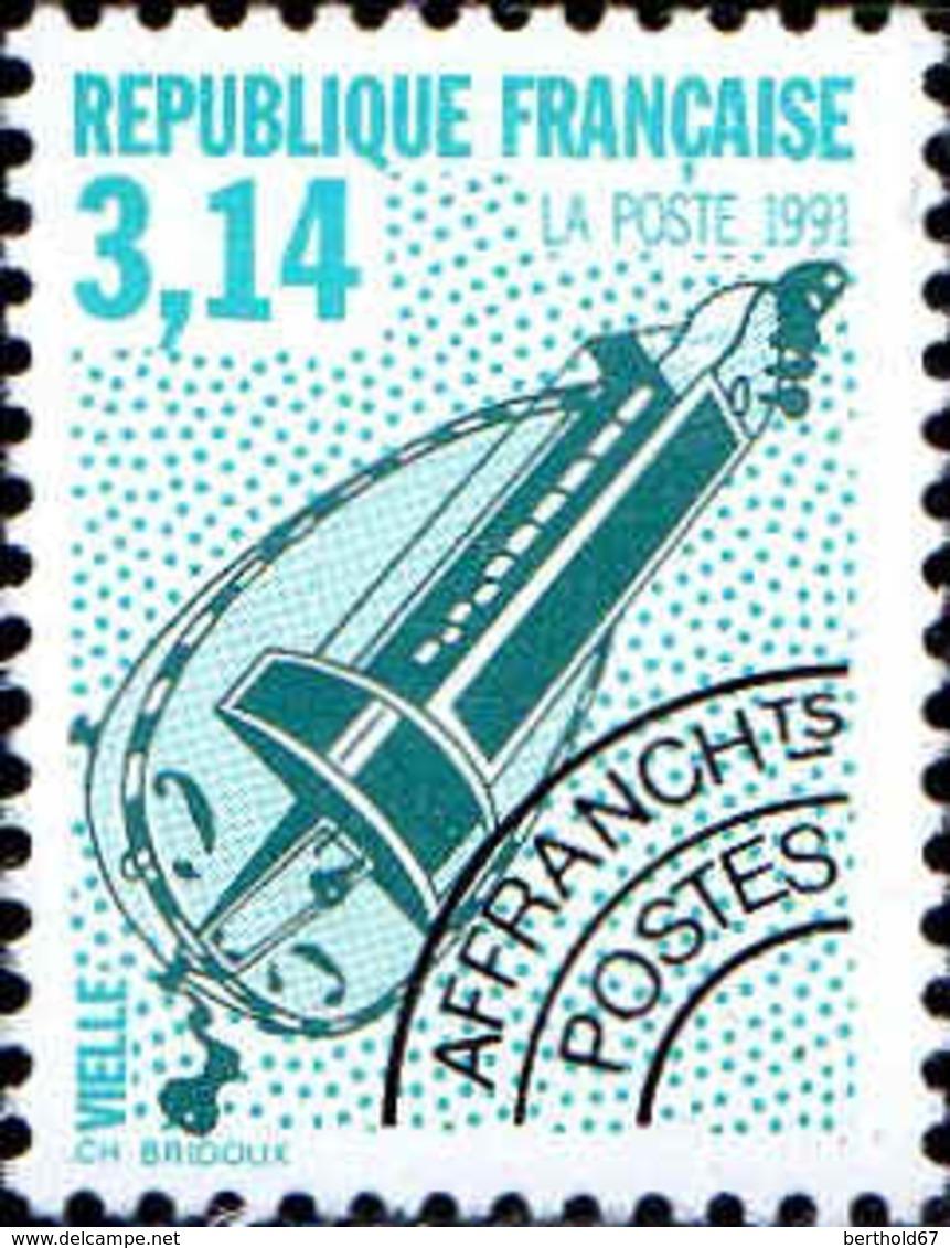 France Préo N** Yv:219 Mi 2877A Yv:3 Euro Vielle - Préoblitérés