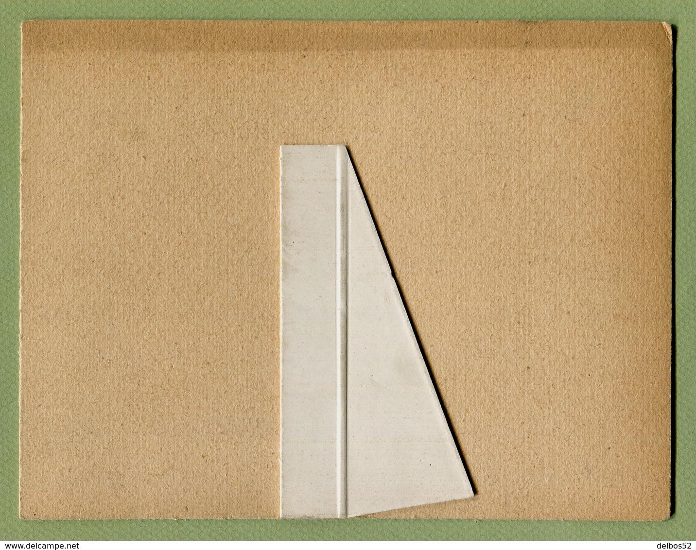 GYRALDOSE : CARTON PUBLICITAIRE PHARMACEUTIQUE ( FEMME ART-DECO ) - Placas De Cartón