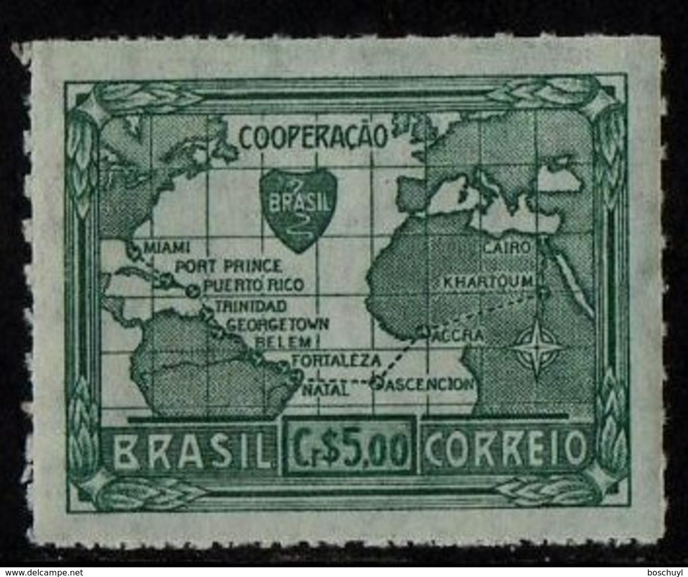 Brazil, 1945, Allied Victory World War II, MNH, Michel 675 - Brésil