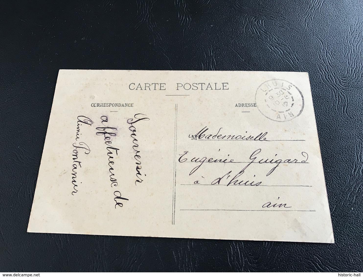 5276 - VAUX EN BUGEY Chapelle De Notre Dame De Nievre - 1912 Timbrée - Autres Communes