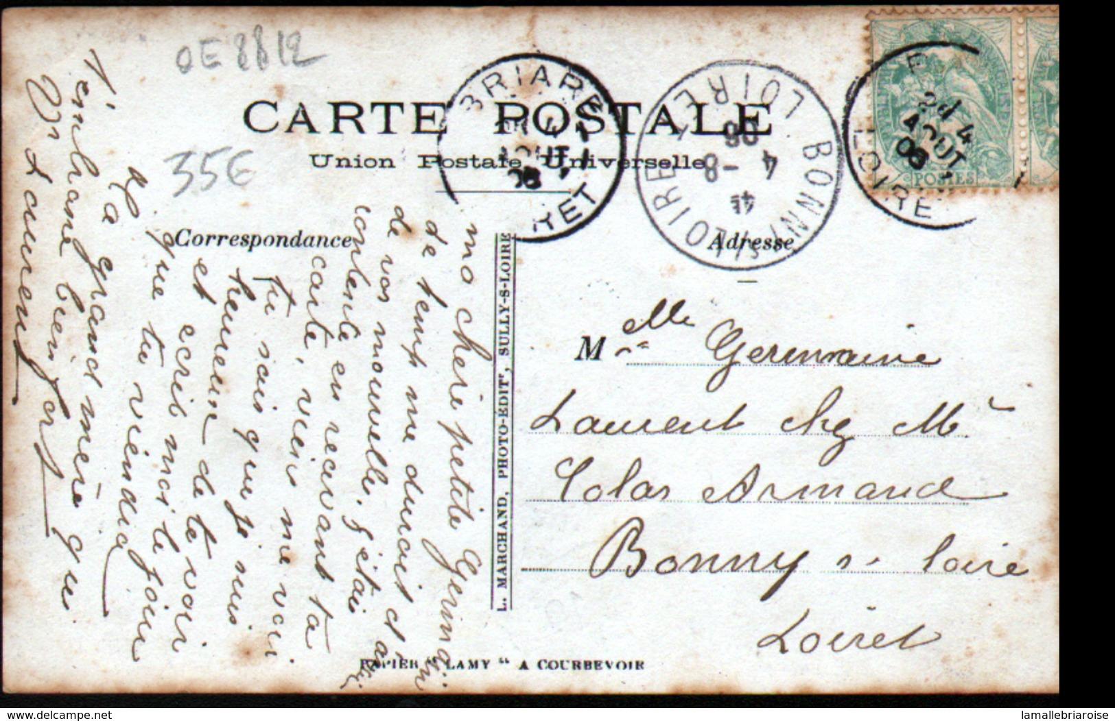 45, Briare, Carte-photo, Fete De St Jean - Briare