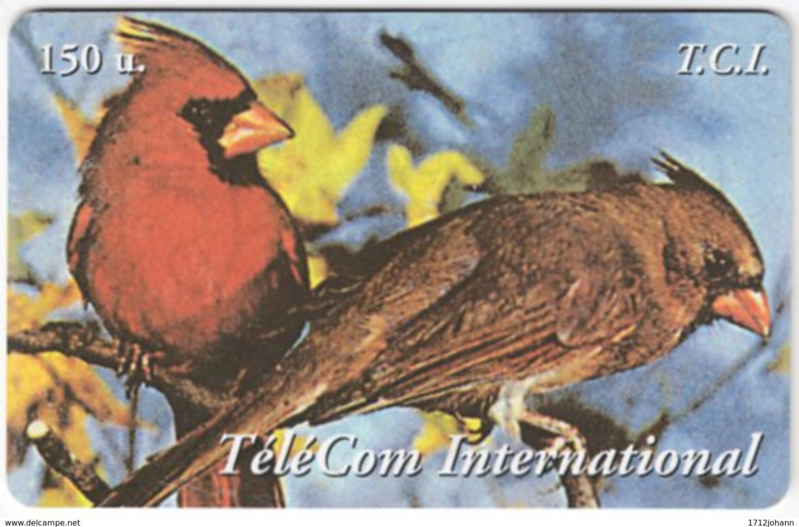 FRANCE C-521 Prepaid TCI - Animal, Bird - Used - Nachladekarten (Refill)