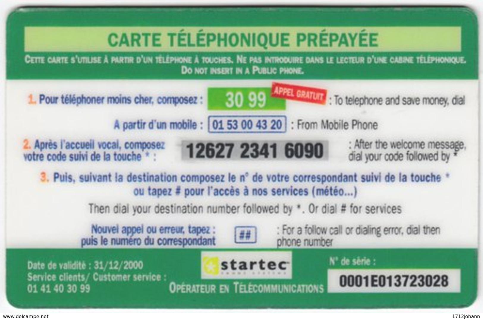 FRANCE C-526 Prepaid Startec - Used - Frankreich