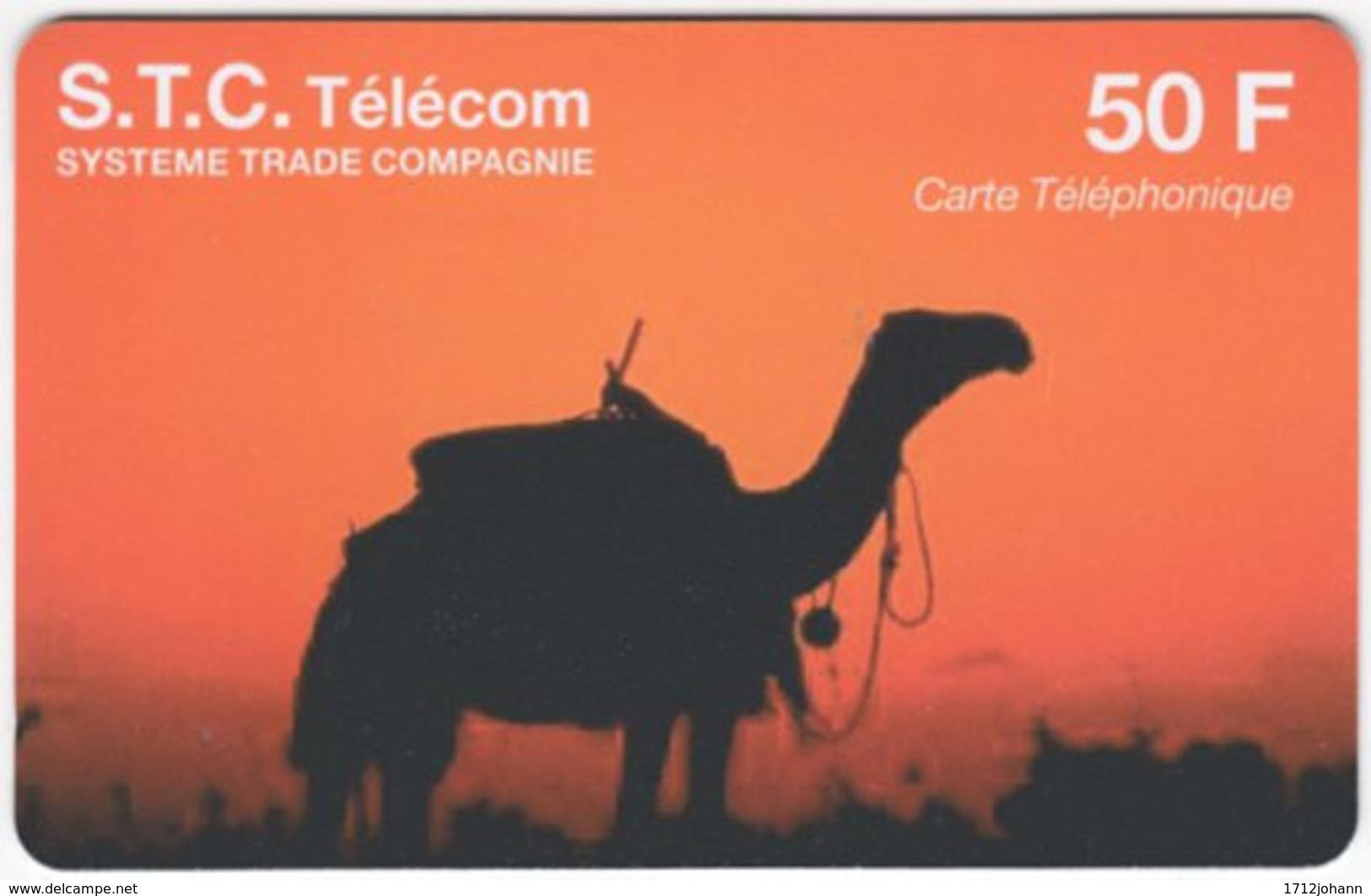 FRANCE C-548 Prepaid STC - Animal, Camel - Used - Nachladekarten (Refill)