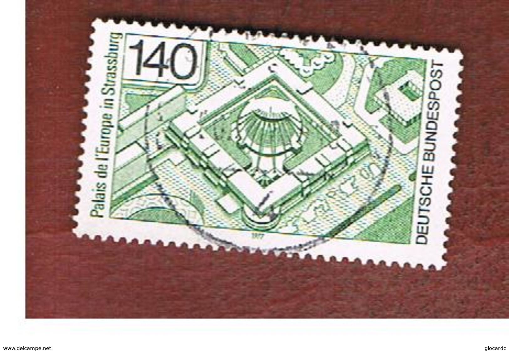 GERMANIA (GERMANY) - SG 1813  - 1977 COUNCIL OF EUROPE BUILDINGS   -  USED - Oblitérés