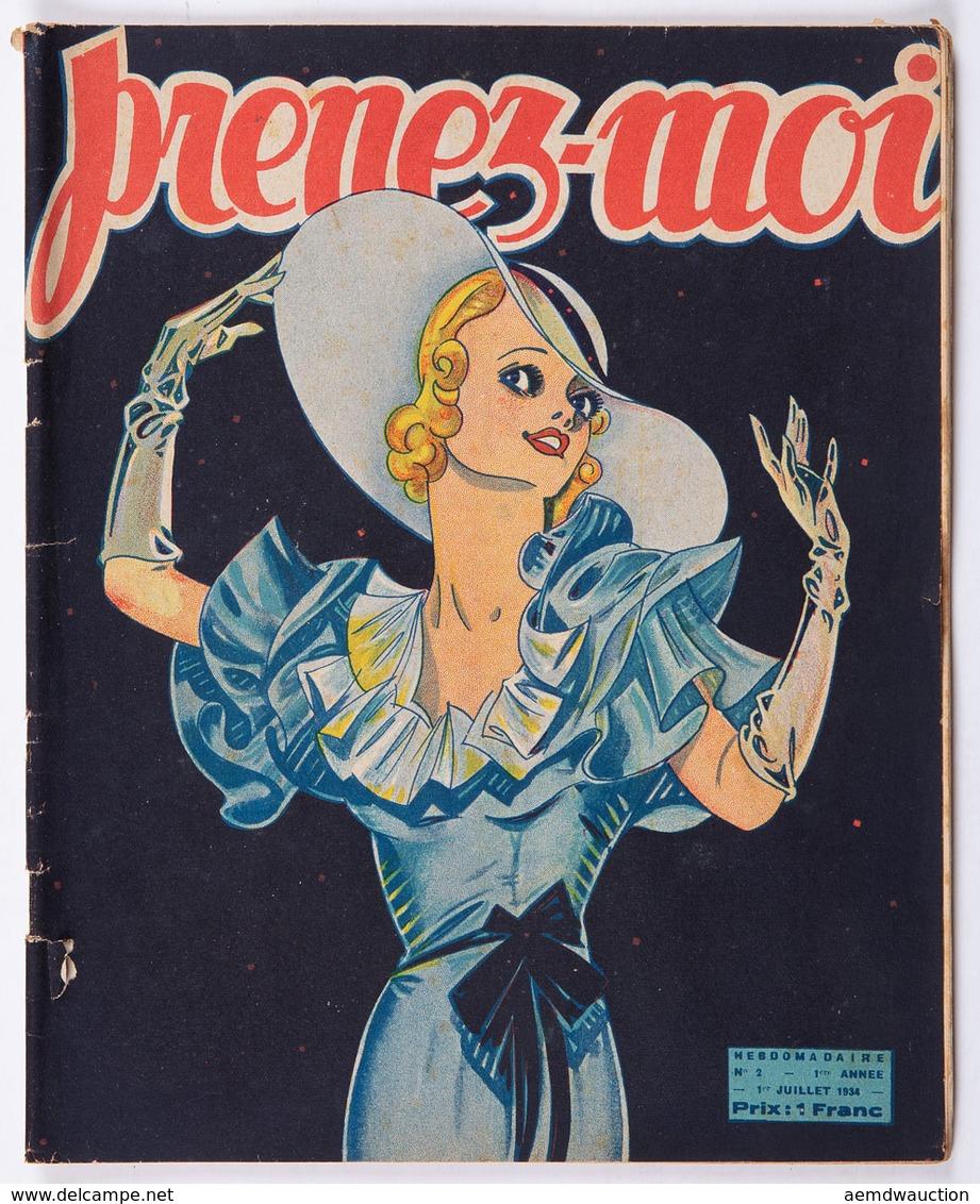 PRENEZ-MOI. Gazette Hebdomadaire. 36 Livraisons Déparei - Boeken, Tijdschriften, Stripverhalen