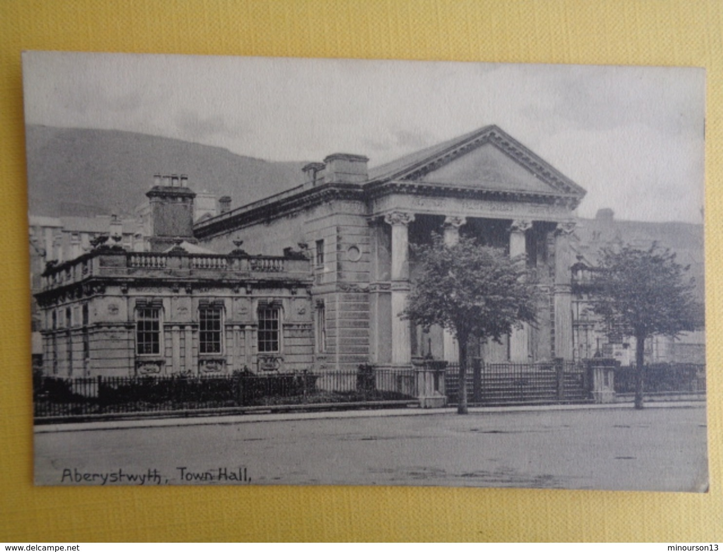 ABERYSTWYTH : TOWN HALL - Pays De Galles