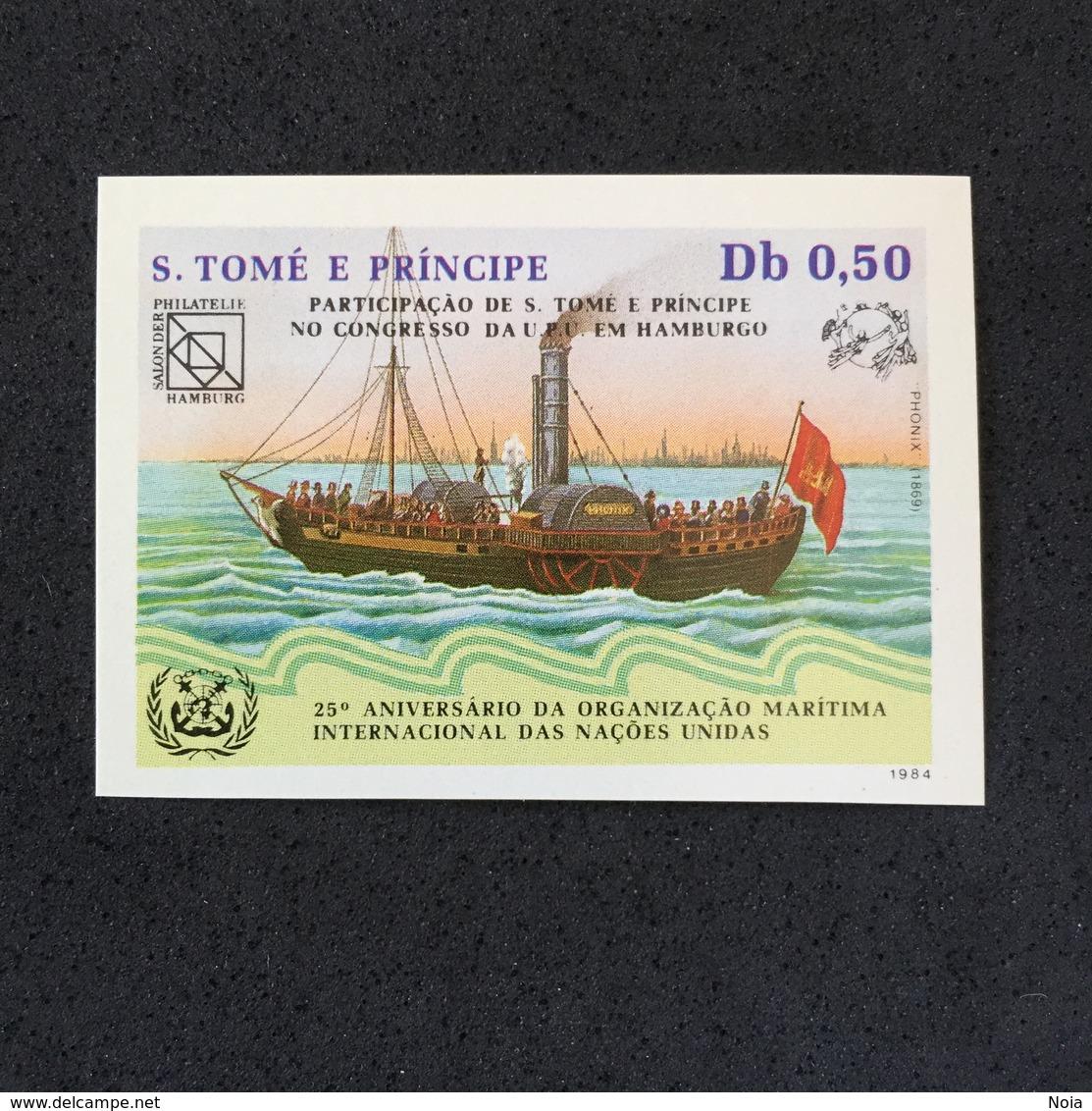 S TOMÉ E PRÍNCIPE. SHIPS. MNH. D2904B - Barcos