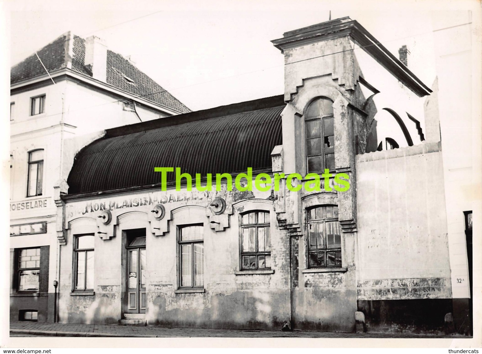 OUDE FOTO 1952 OOSTENDE 18 CM X 13 CM ANCIENNE PHOTO OSTENDE DANCING MON PLAISIR TORHOUTSESTEENWEG JULES PEURQUAERT... - Orte