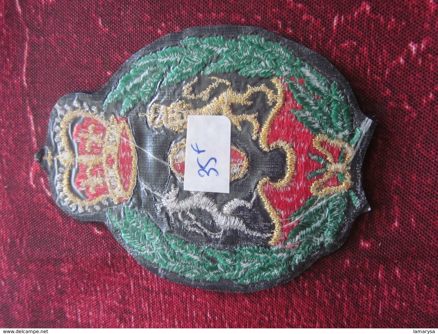 Royal Arms Of The United Kingdom Armoiries Royales Du Royaume-Uni UK-Écussons - Blasons Crest Coat Of Arms - Patches