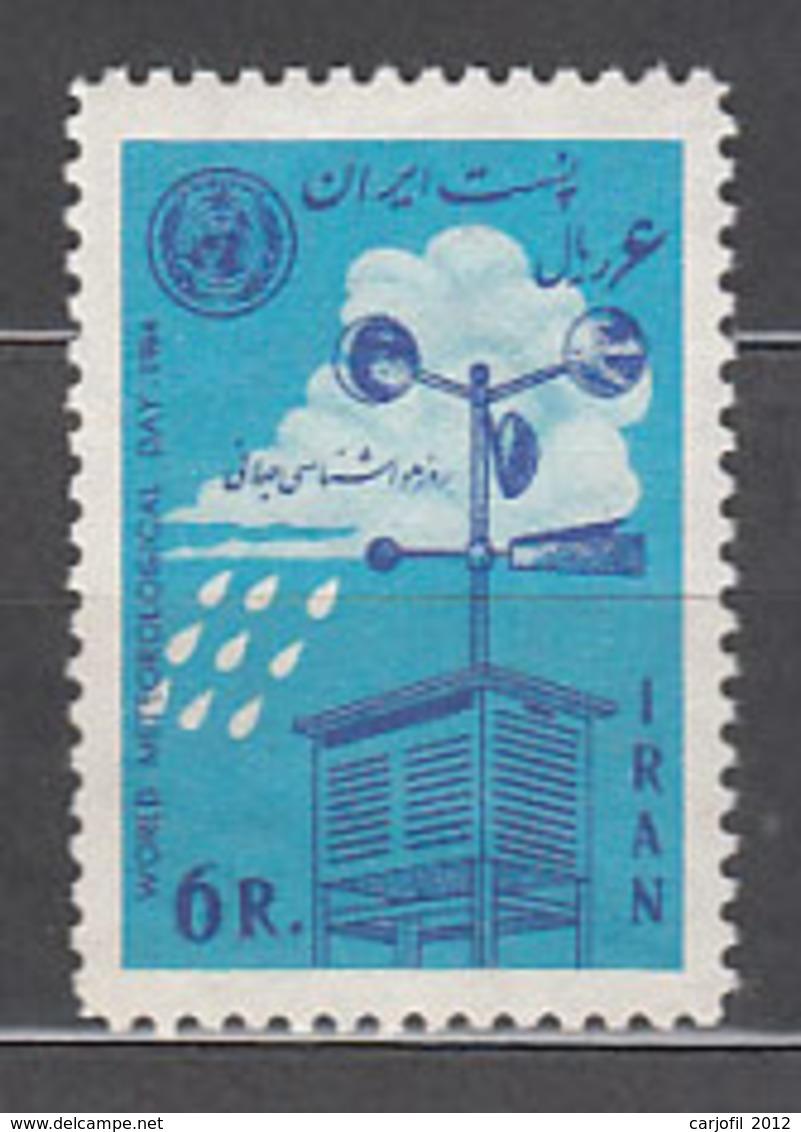 Iran - Correo 1964 Yvert 1069 ** Mnh Meteorolog�a - Iran