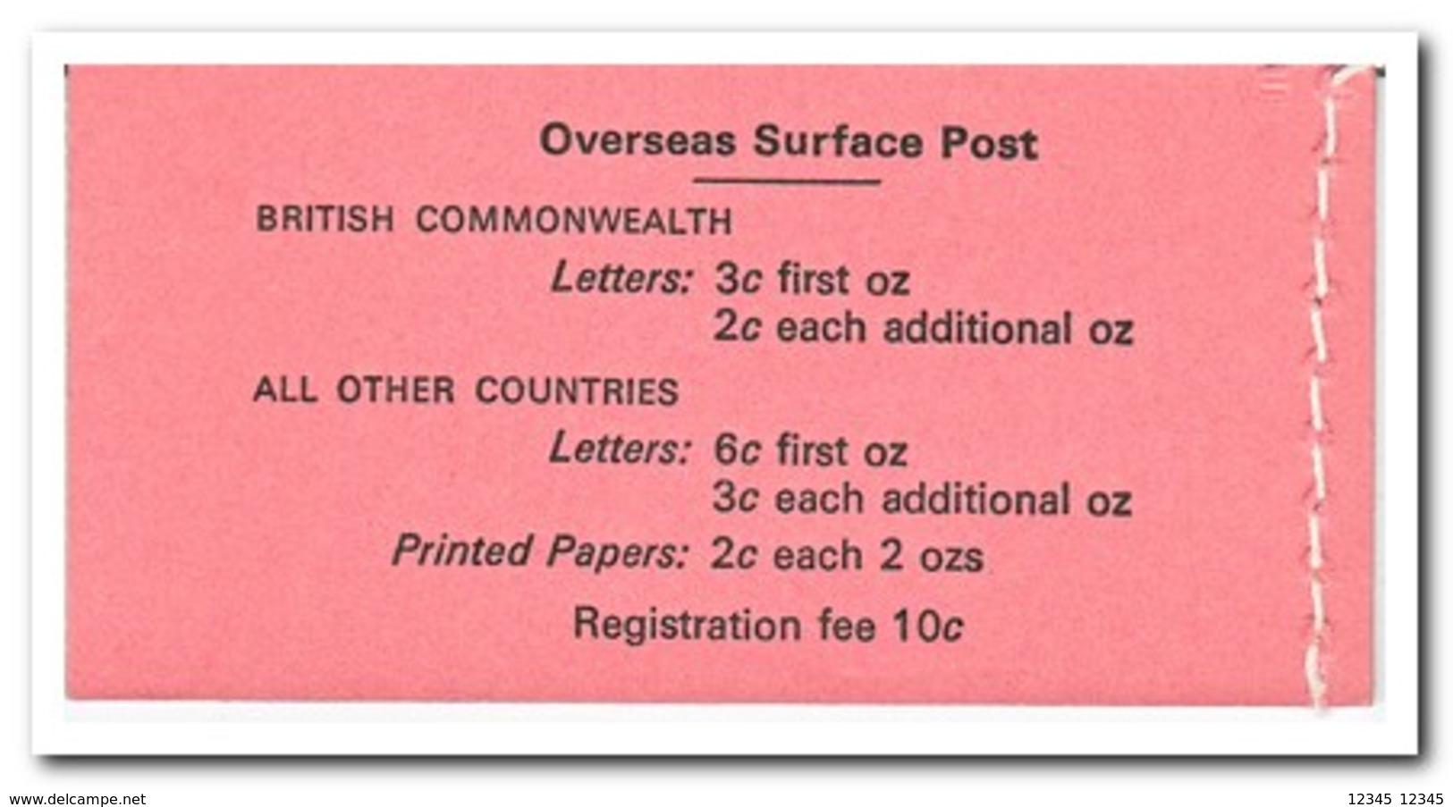 Fiji, Postfris MNH, Shells, Flowers ( Booklet, Carnet ) - Fiji (1970-...)