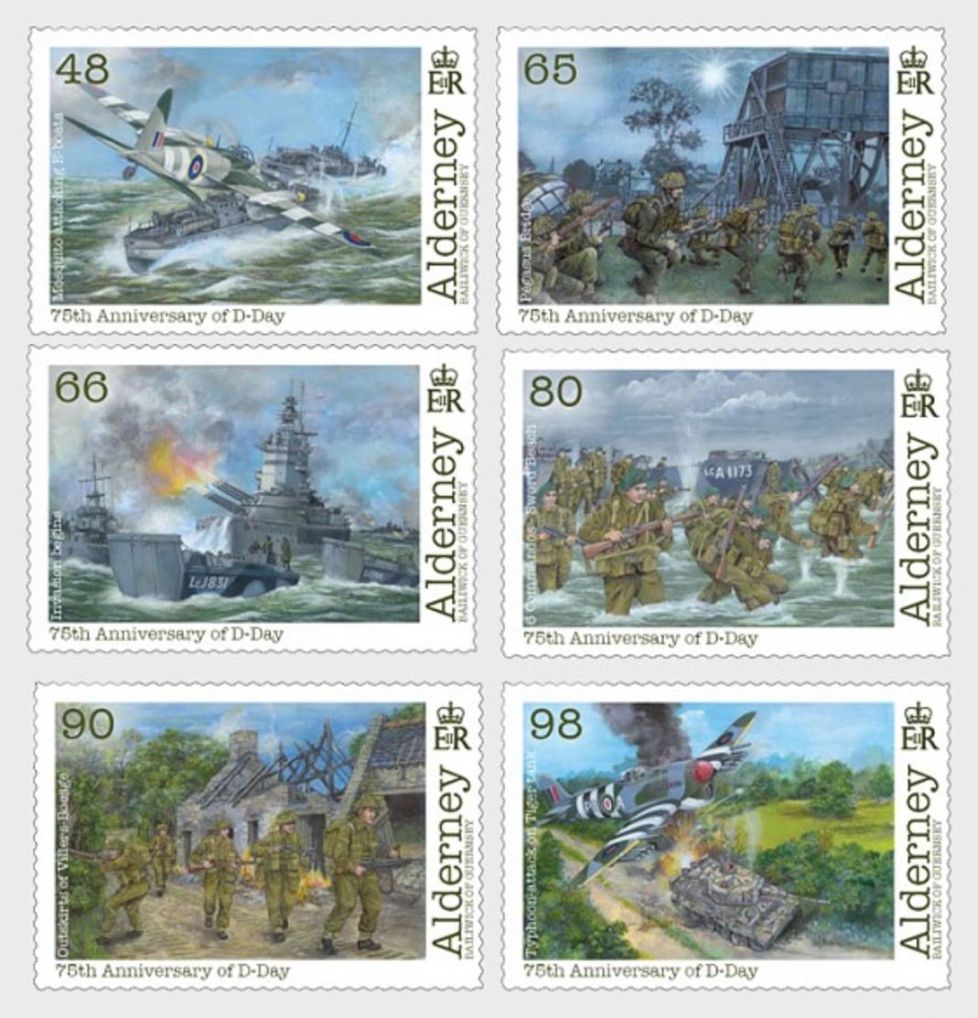 H01 Alderney 2019 75th Anniversary Of D-Day MNH Postfrisch - Alderney