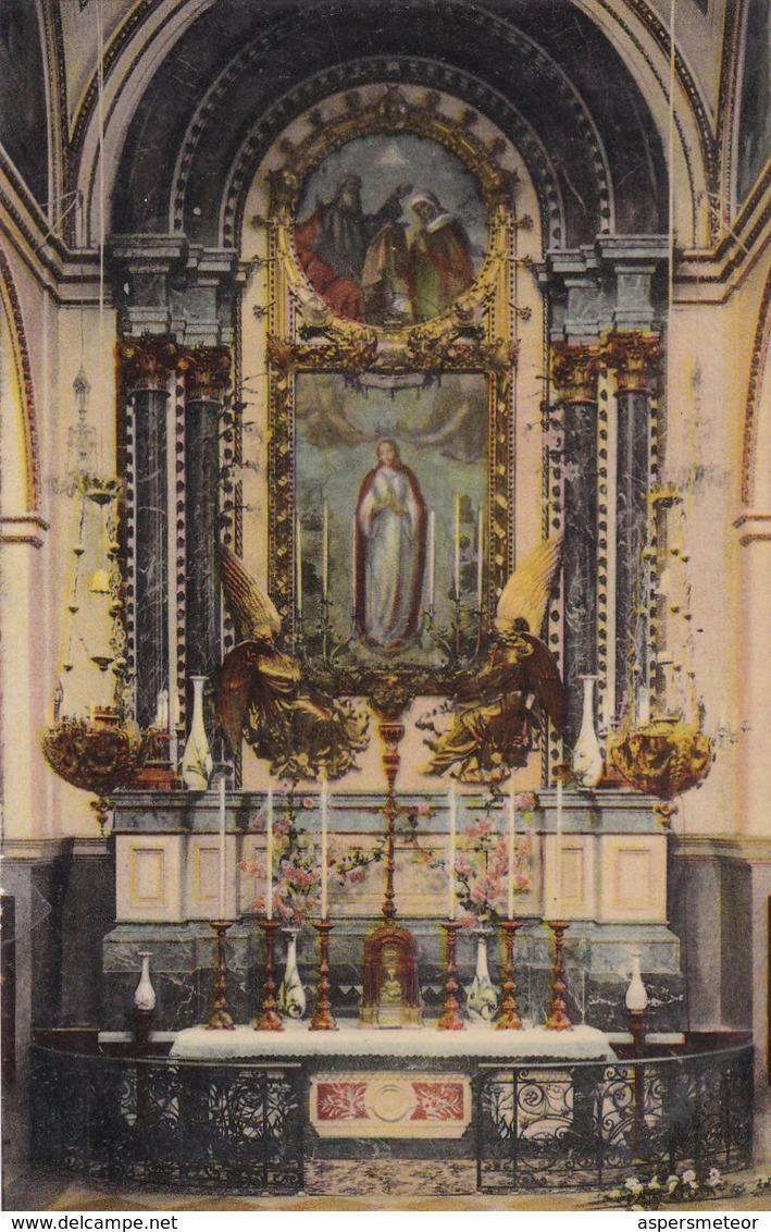 VALENCIA. ALTAR DE LA PURISIMA IGLESIA DE LA COMPAÑIA. EDICION ANDRES FABERT. CPA CIRCA 1910s - BLEUP - Valencia