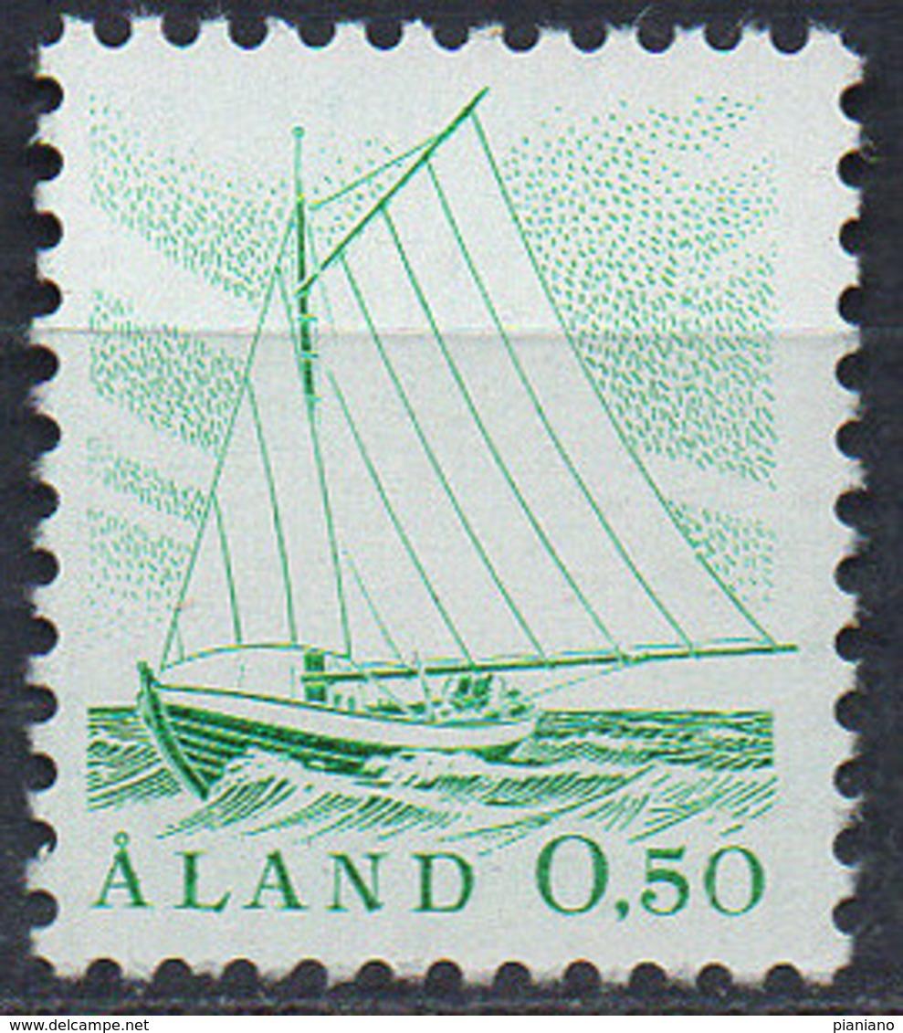 PIA - ALA - 1984 - Uso Corrente - Battello Da Pesca - (Yv 1-3) - Aland