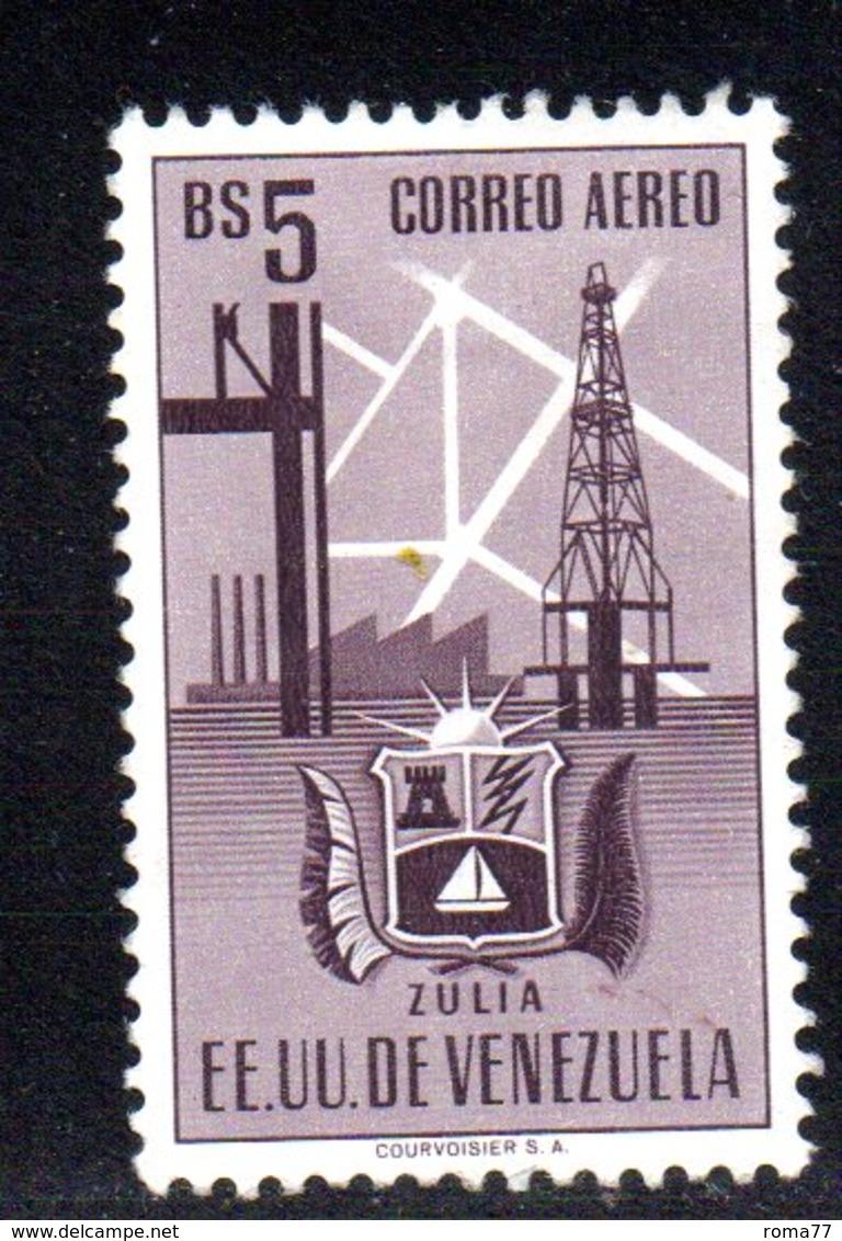 CI1111 - VENEZUELA 1951, Posta Aerea Yvert N. 356  Usato. Zulia - Venezuela