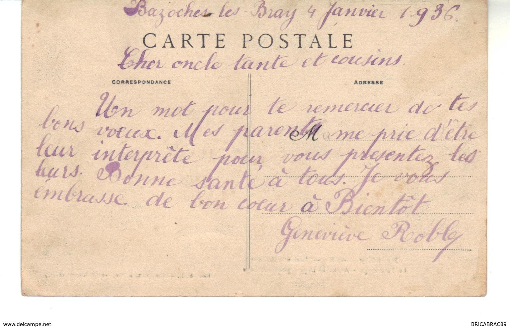 CPA  - PREUILLY  (Seine Et Marne)  Ancien Abbaye  -  Le Pèlerinage -  Avant Le Départ Pour L'Abbaye.. - Other Municipalities