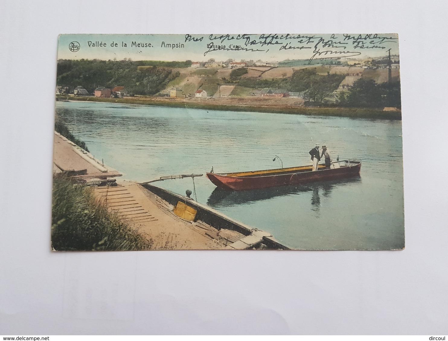 40877 Ampsin  Passage D'eau  -  Couleur - Amay
