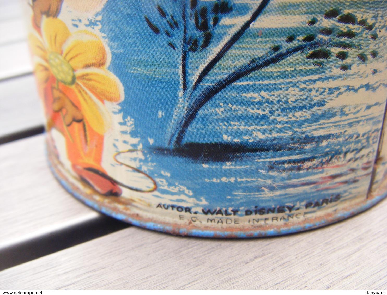 MOULIN A MUSIQUE VINTAGE WALT DISNEY PARIS CENDRILLON RARE GRAND MODELE PARFAIT FONCTIONNEMENT MADE IN FRANCE - Toy Memorabilia