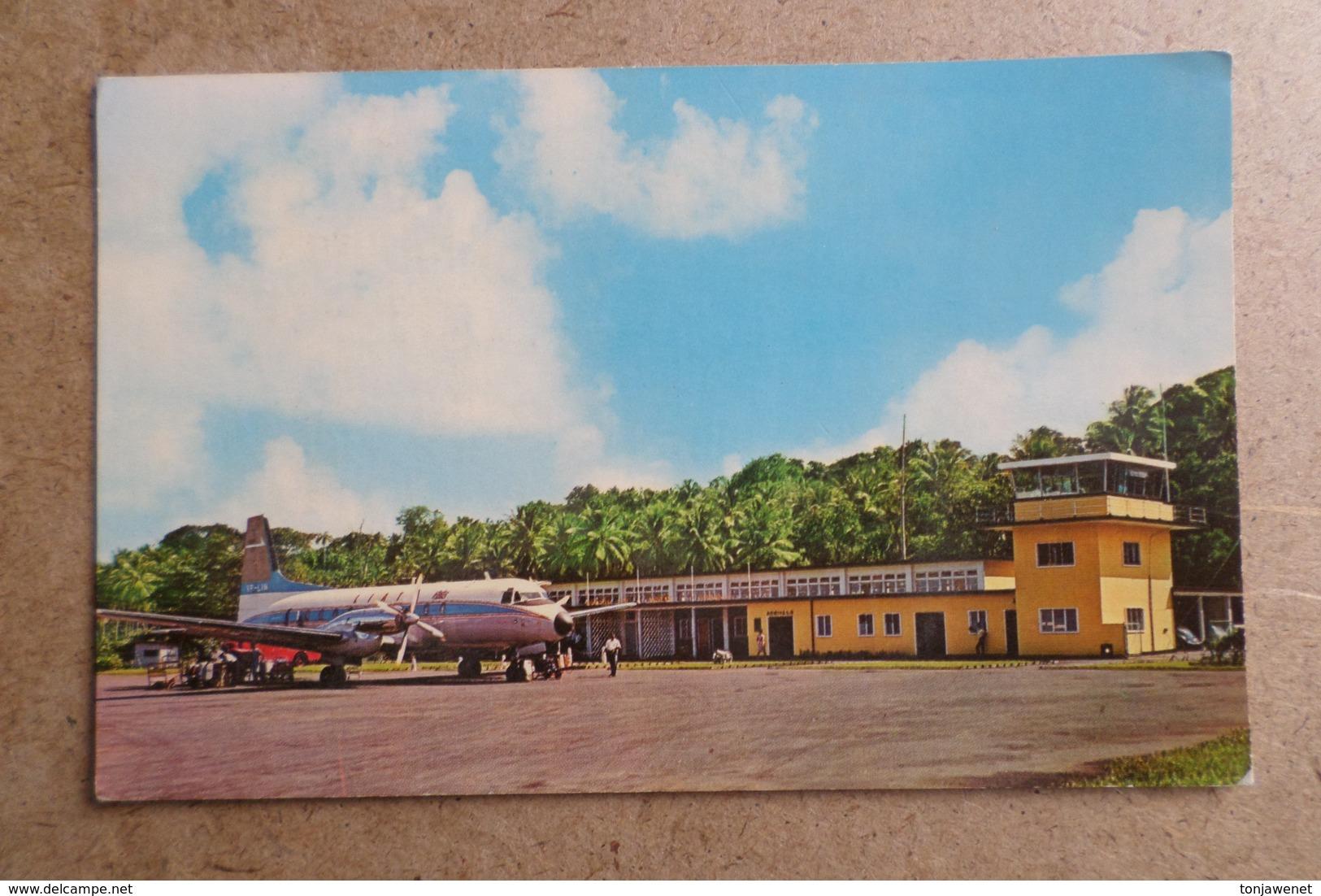 MELVILLE AIRPORT - Dominica - La Dominique, Antilles - ( Avions Aviation ) - Aérodromes
