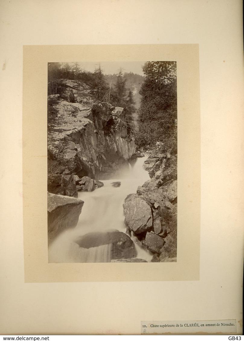 Chute Supérieure De La CLARÉE, En Amont De Névache - Alte (vor 1900)