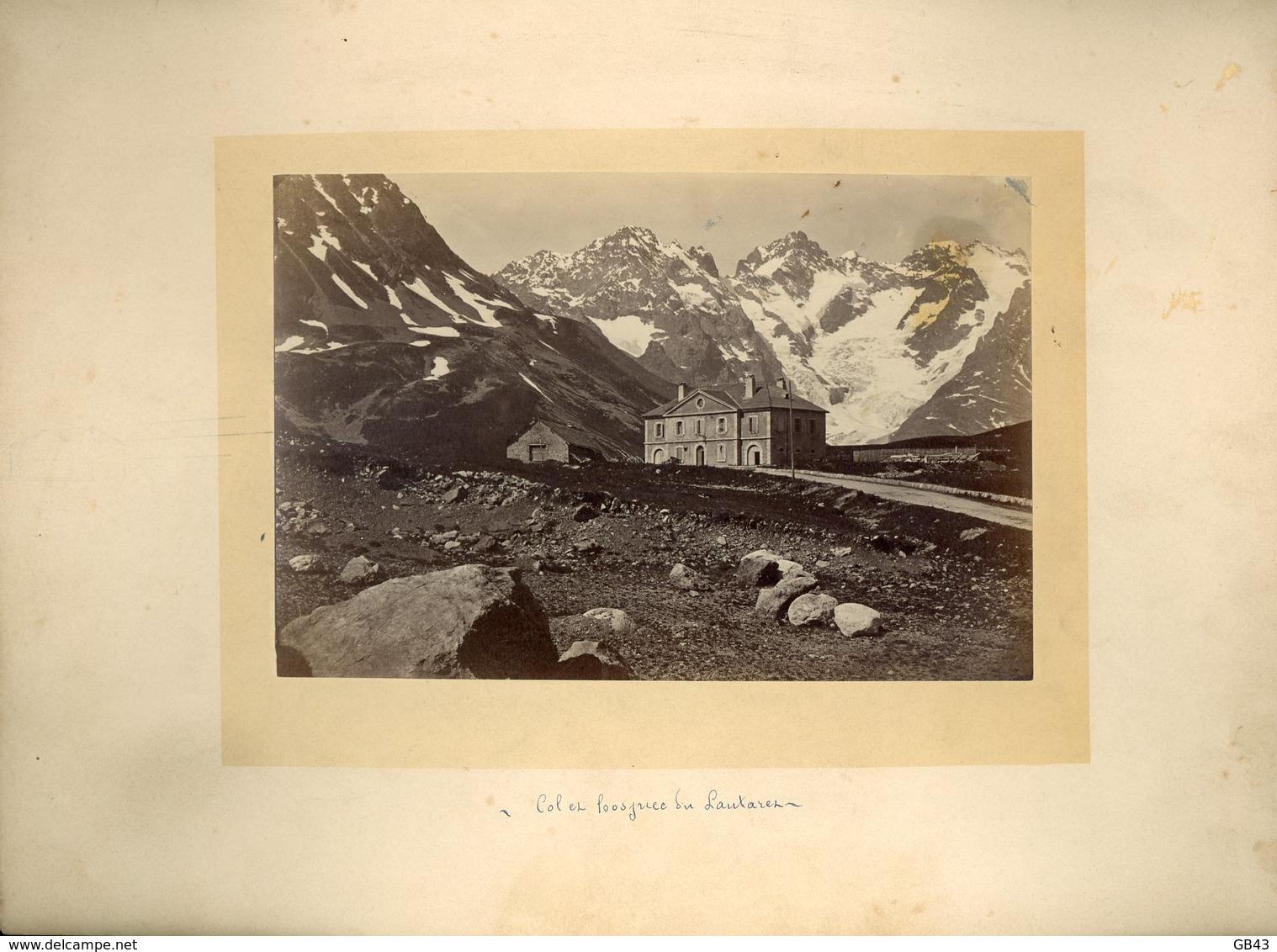 Col Des Hospices Du Lautaret - Alte (vor 1900)