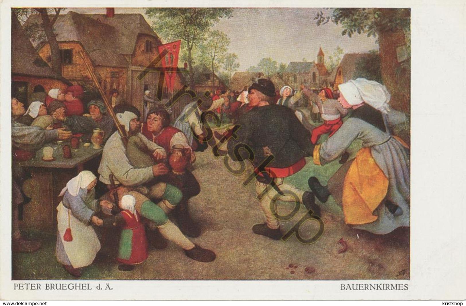 Peter Brueghel - Bauerkirmes - POSTKARTE  [2A-5.025 - Paintings