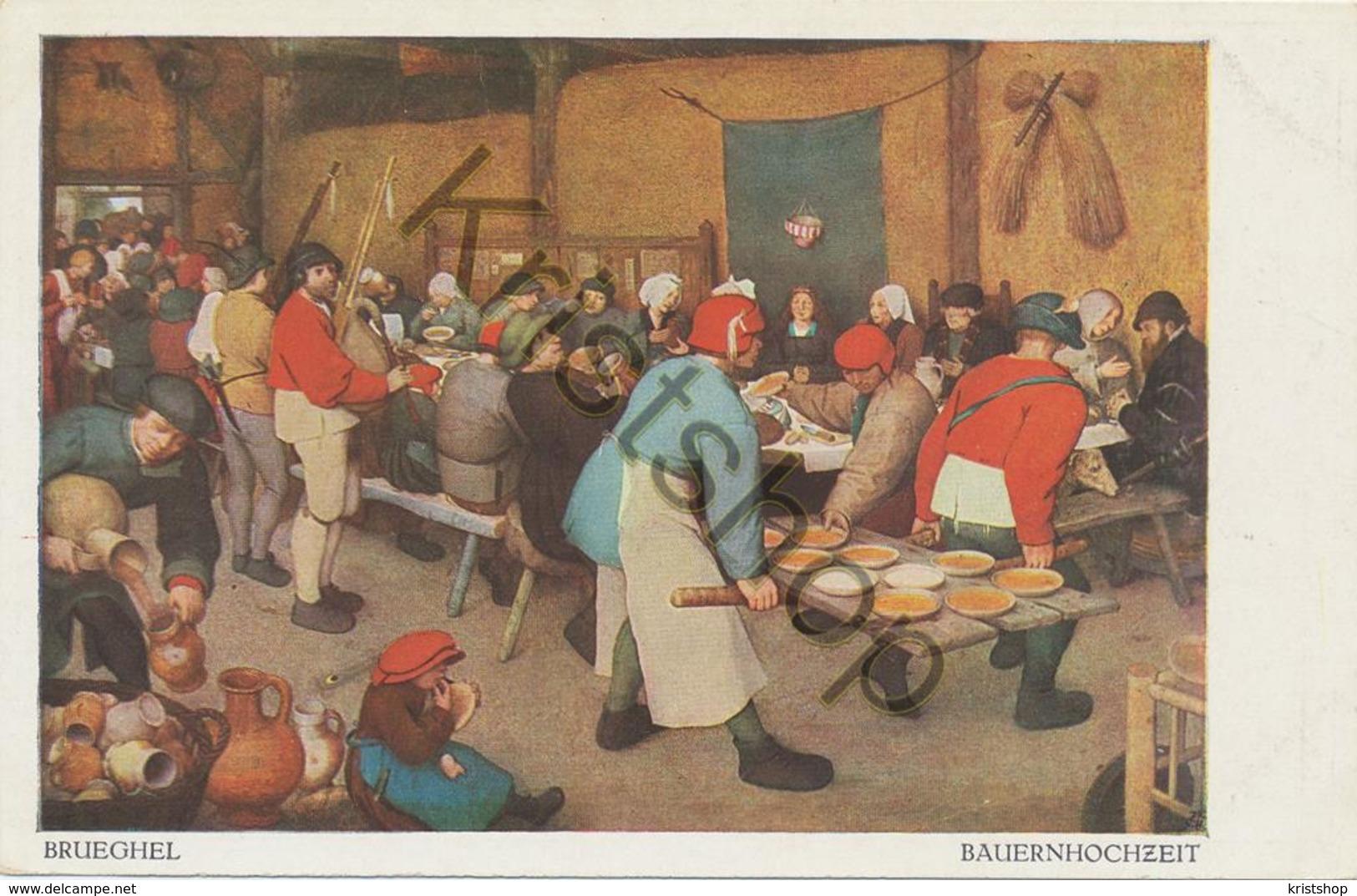 Brueghel - Bauernhochzeit  [2A-5.027 - Paintings