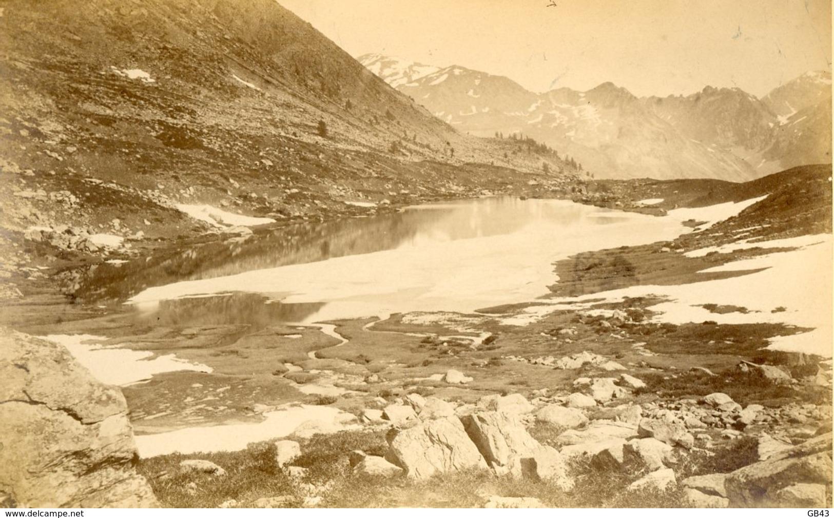 Lac De Cristol, Près Nérache, Basses-Alpes - Alte (vor 1900)