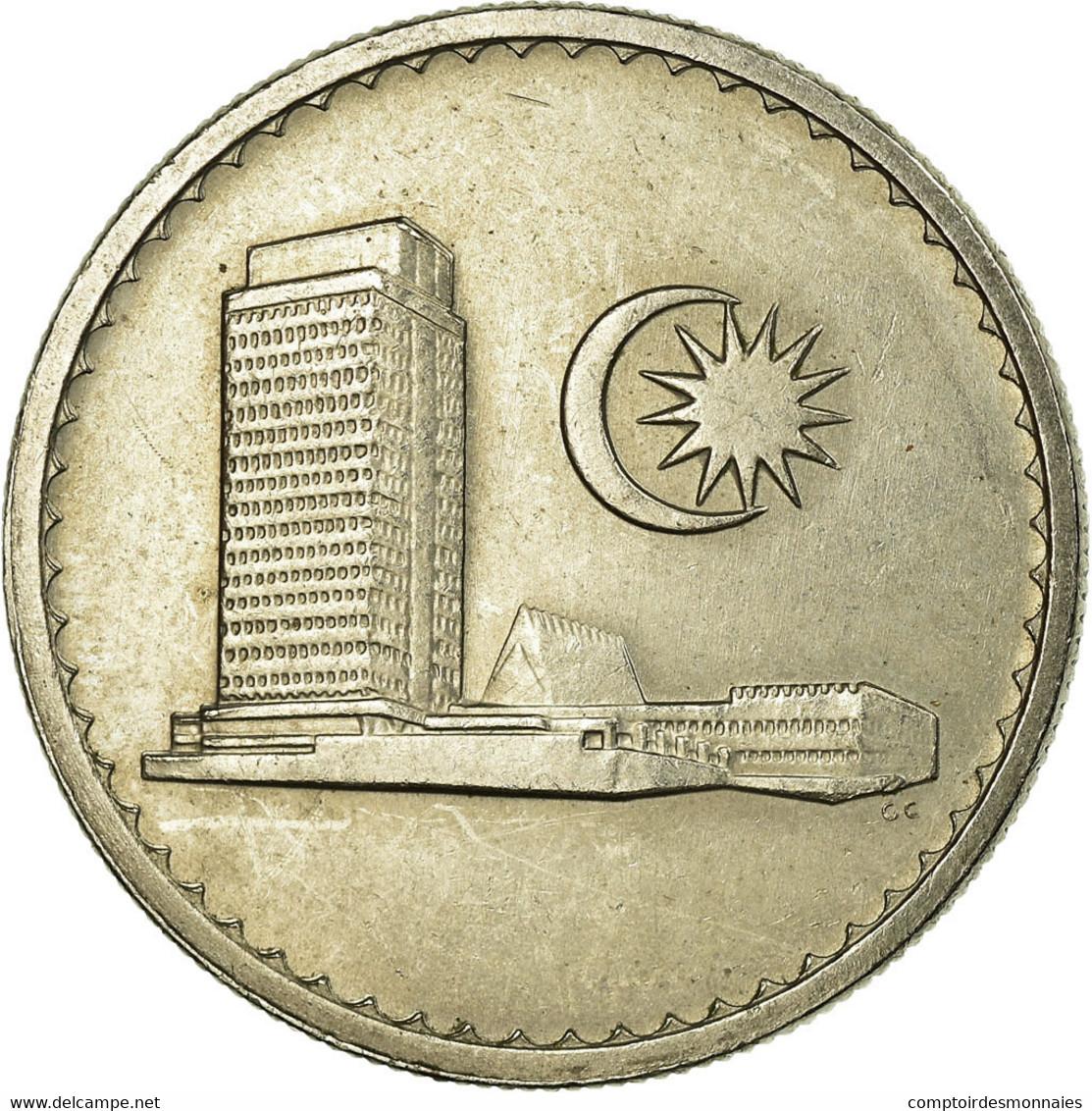 Monnaie, Malaysie, 20 Sen, 1979, Franklin Mint, TTB, Copper-nickel, KM:4 - Malaysie