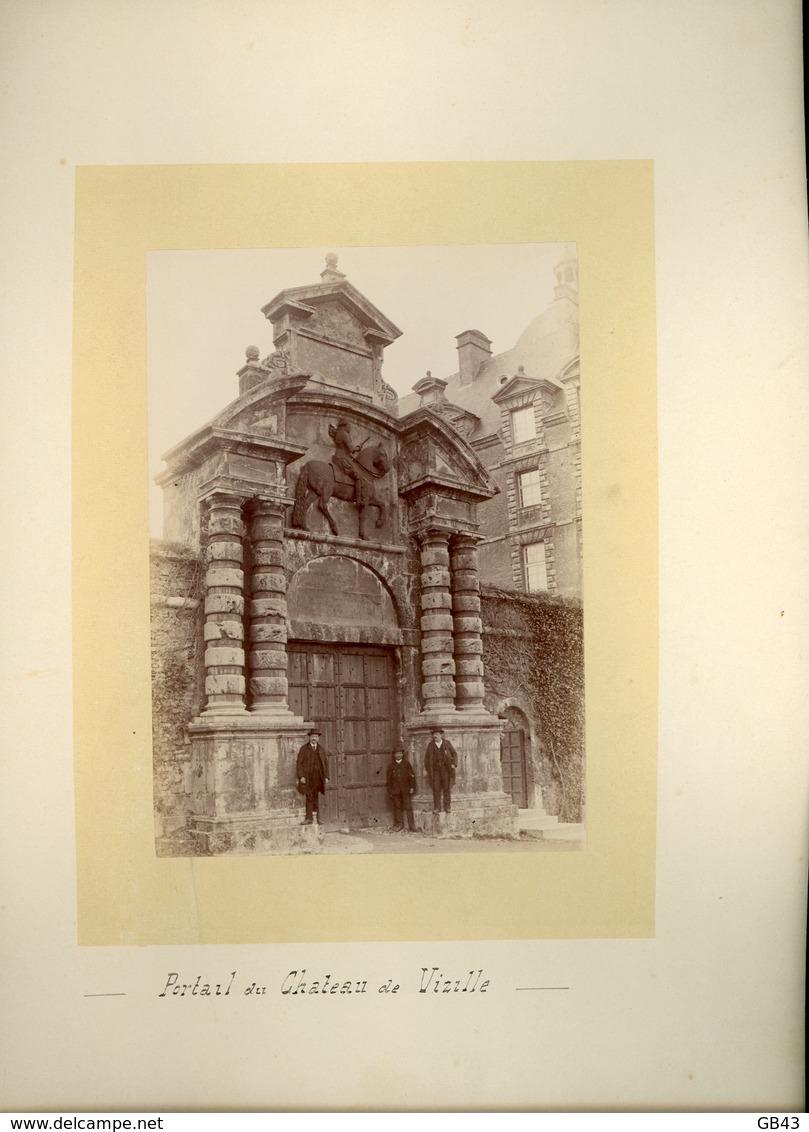 Portaille Du Chateau De Vizille - Alte (vor 1900)