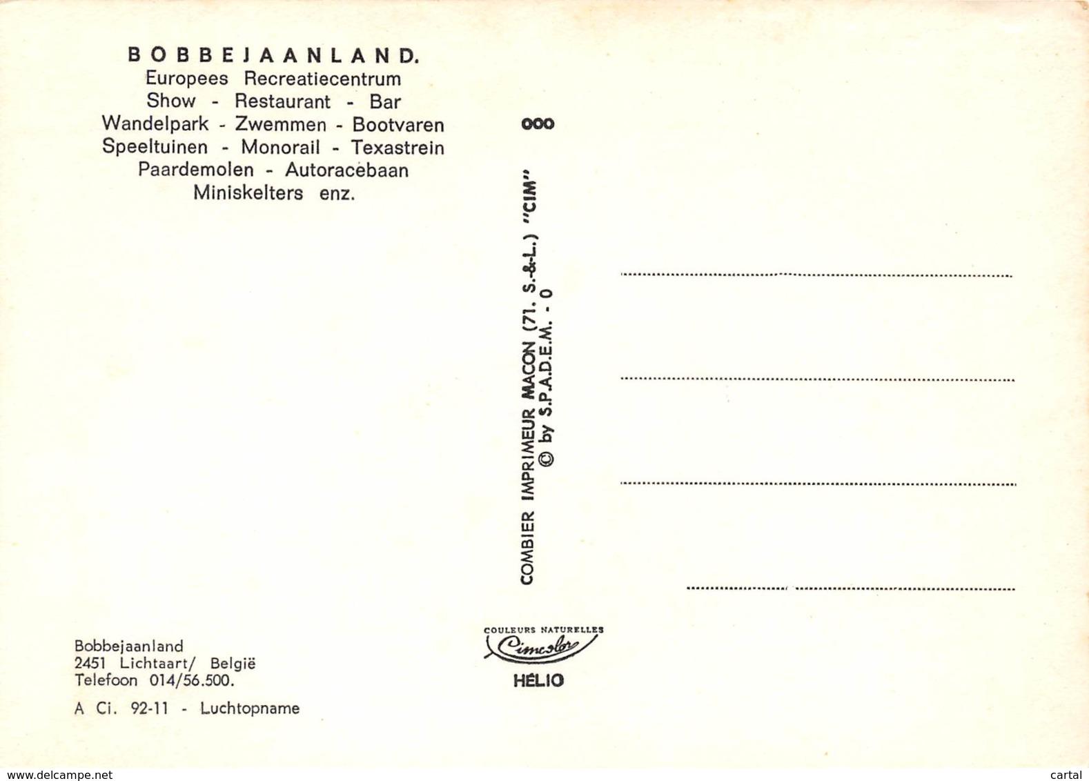 CPM - LICHTAAR - BOBBEJAANLAND - Kasterlee