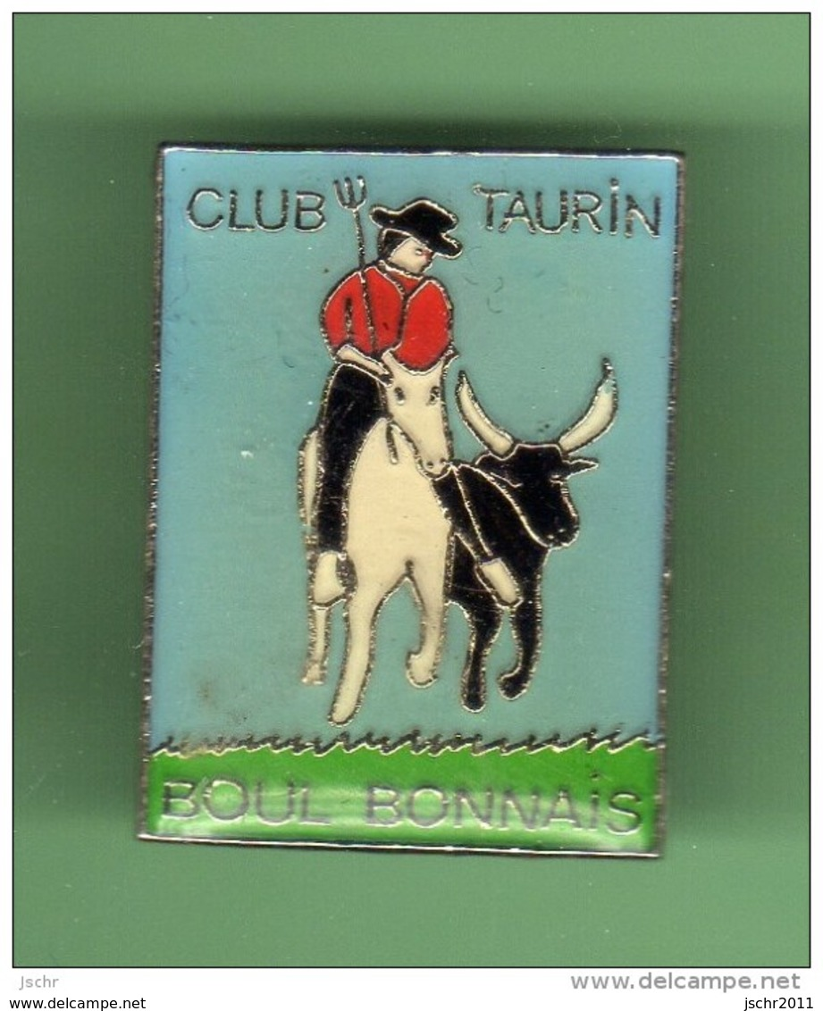TAUROMACHIE - CORRIDA *** CLUB TAURIN BOUL BONNAIS *** 1008 - Bullfight - Corrida
