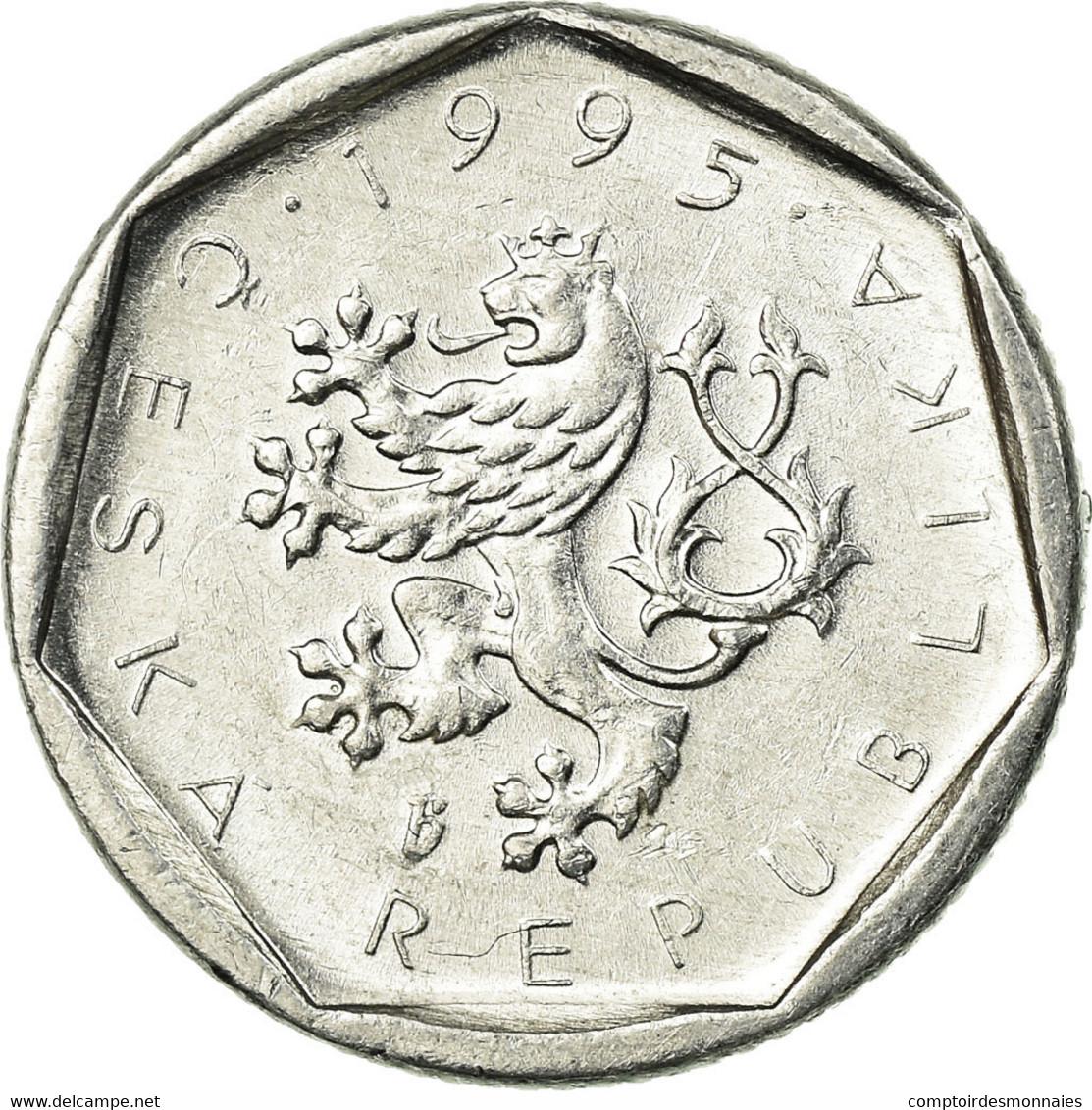 Monnaie, République Tchèque, 20 Haleru, 1995, TTB, Aluminium, KM:2.1 - Tchéquie