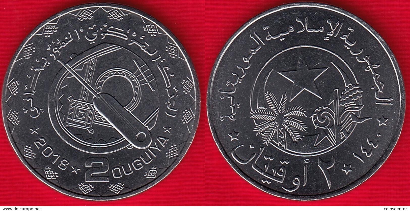 Mauritania 2 Ouguiya 2018 UNC - Mauritania