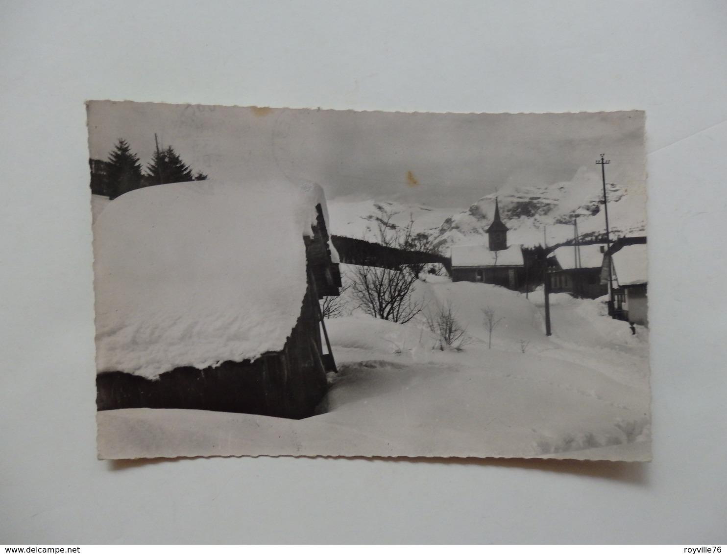 Les Houches-Mont-Blanc, Vue D'hiver. - Les Houches