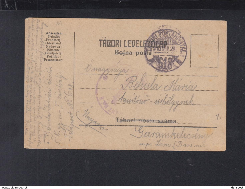 Hungary Field Post PC 1917 - Hungary