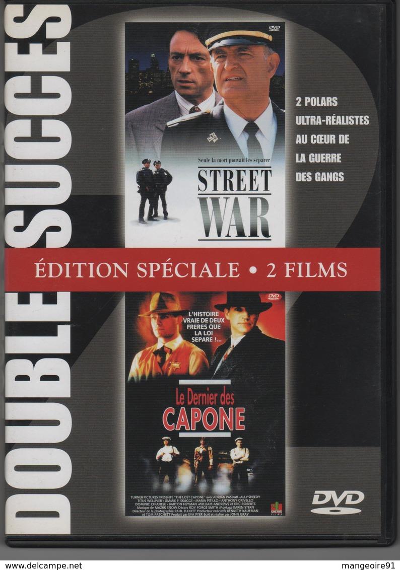 DVD 2 Polars Ultra-réalistes STREET WAR Et LE DERNIER DES CAPONE - Policiers