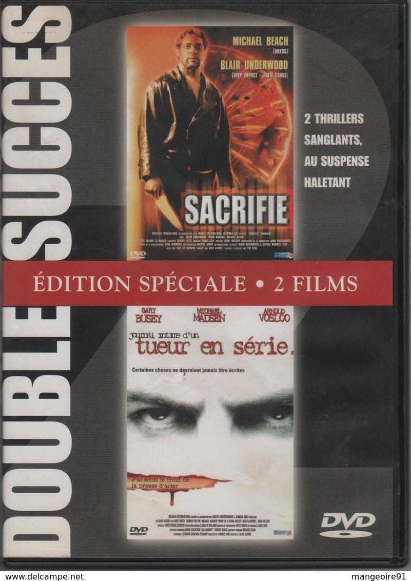 DVD 2 Films THRILLER : SACRIFIE / TUEUR EN SERIE - Policiers