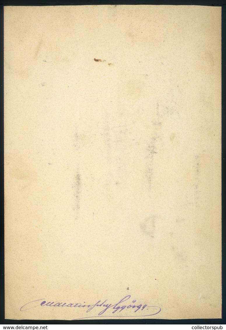 1875. Ca. Malatinszky György 1842-1920. Politikus, Országgyűlési Képviselő, Cabinet Fotó - Foto's