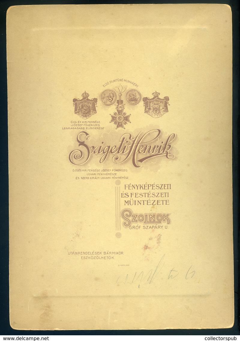 SZOLNOK 1909. SPORT VÍVÁS Szigeti Henrik : Vívók Igen Ritka Fotó 251*18 Cm - Foto's