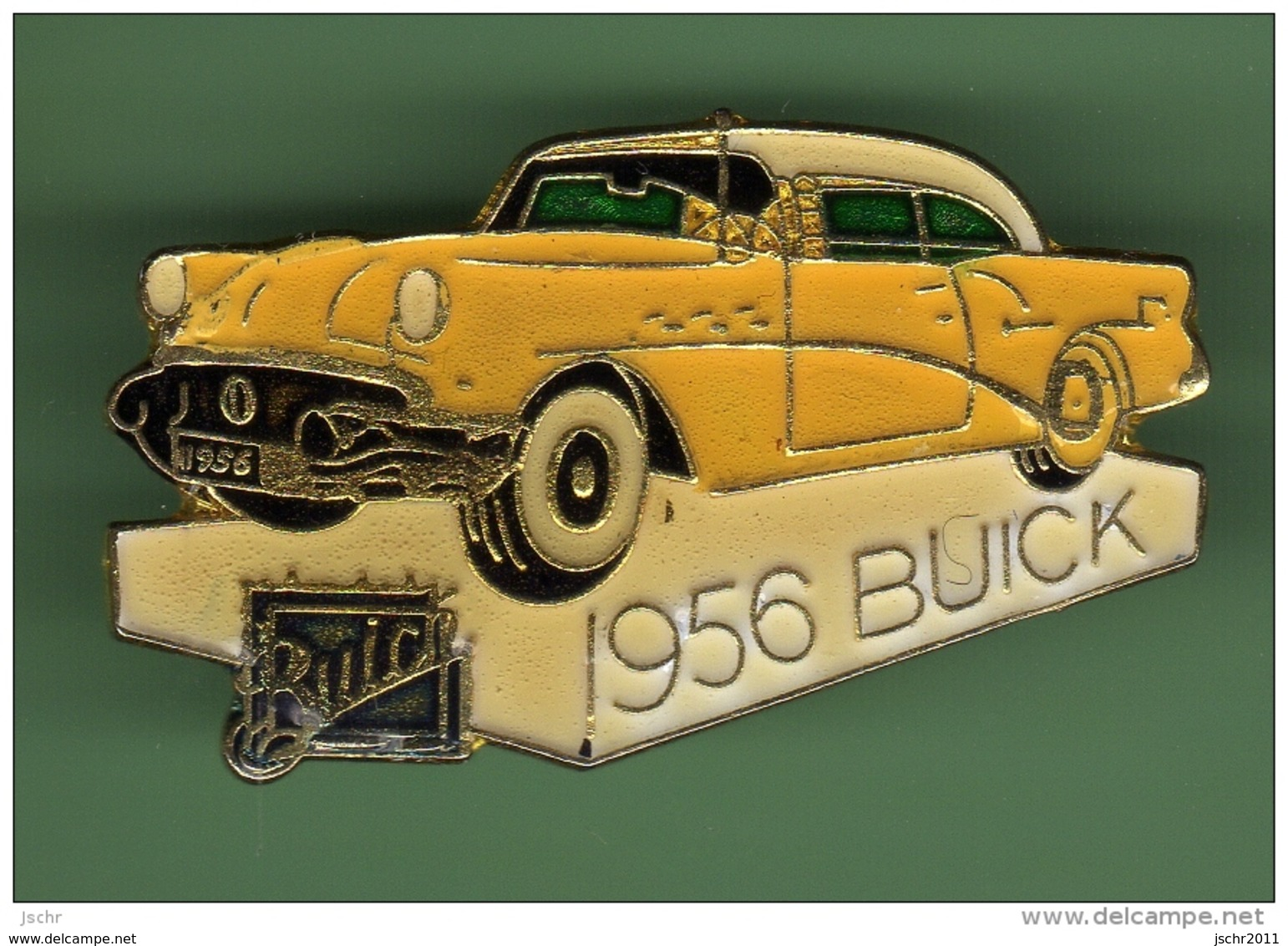BUICK 1956 *** JAUNE N°2 *** 1008 - Corvette