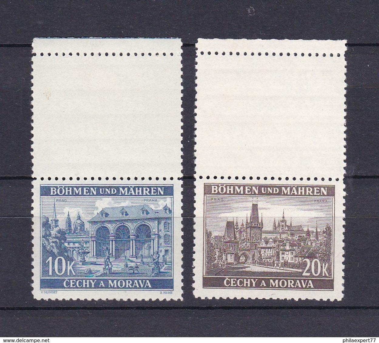 Böhmen Und Mähren - 1940/41 - Michel Nr. 60/61 LS - Besetzungen 1938-45