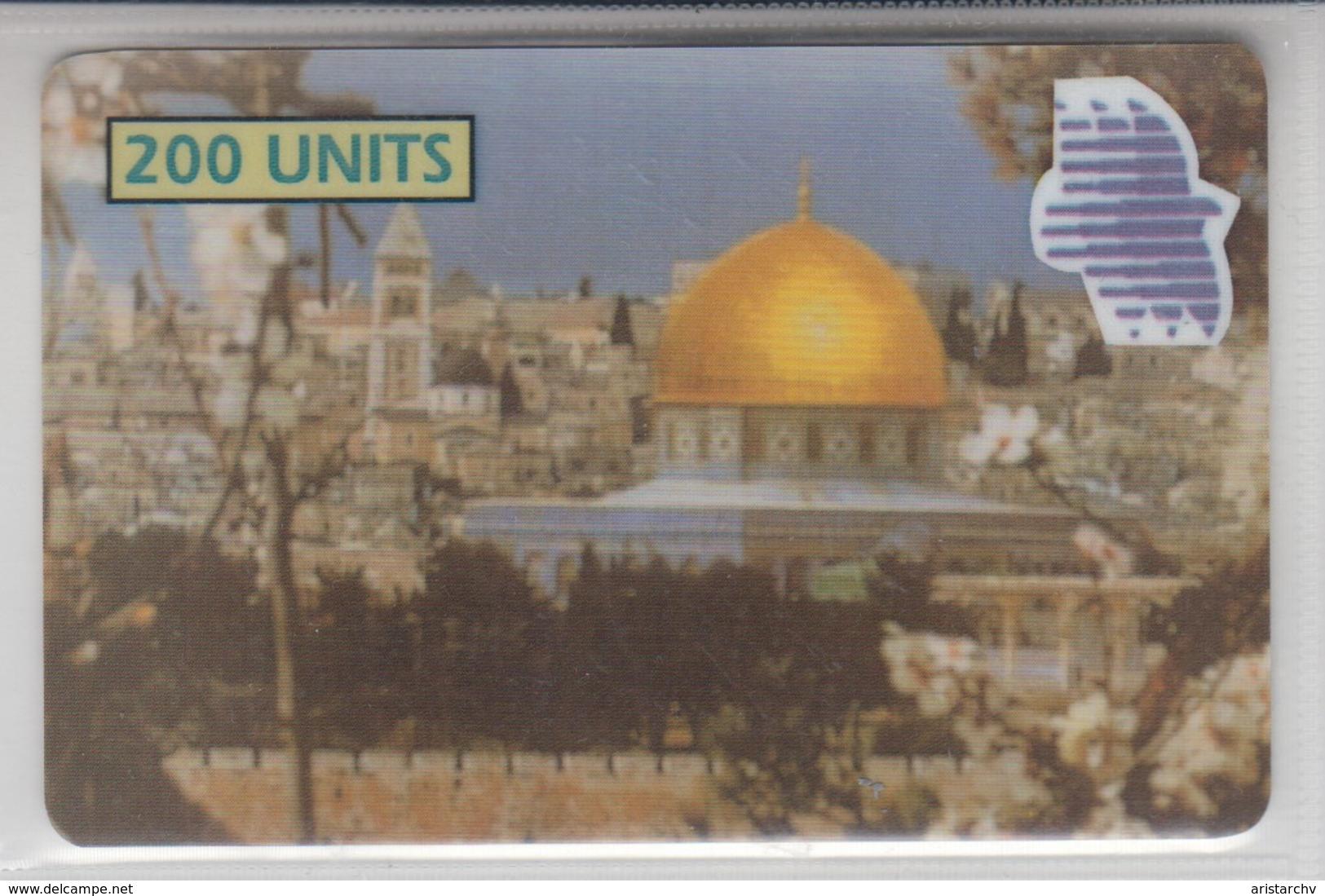 PALESTINE 2000 R.Y.F. COM AL AQSA MOSQUE MINT PHONE CARD - Palestina