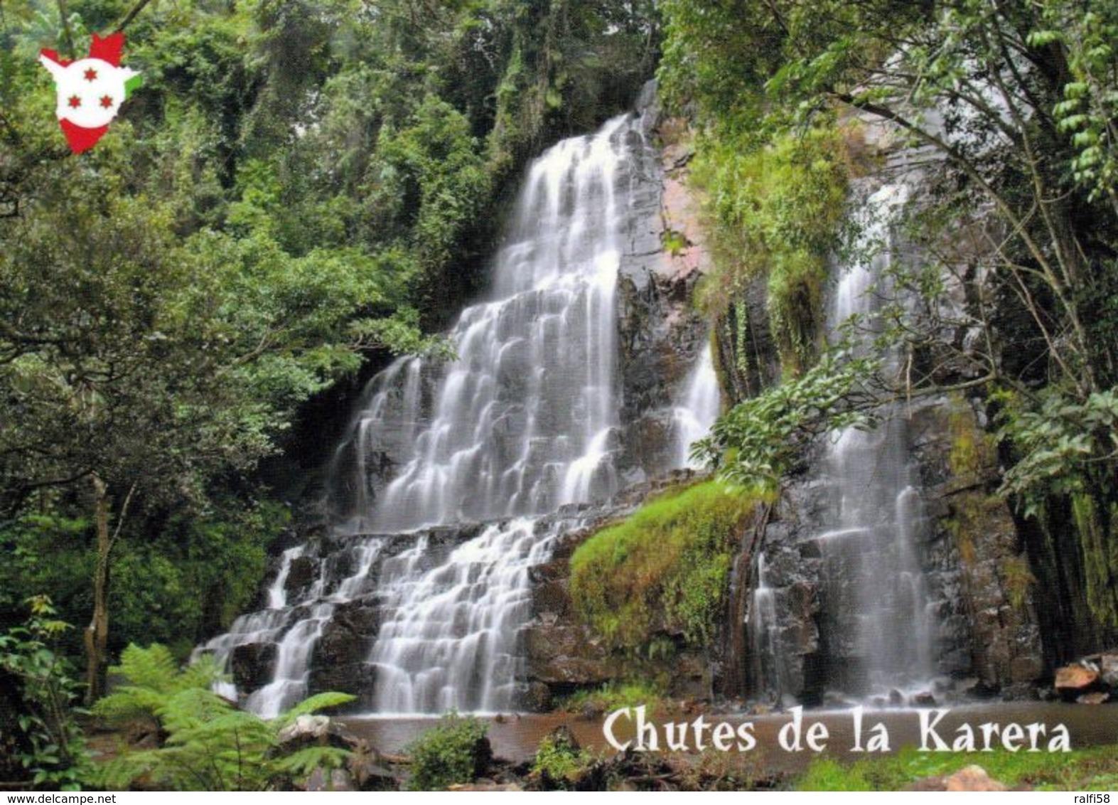 1 AK Burundi * Wasserfall Karera - Chutes De La Karera - Auf Der Tentativliste Von Burundi Für Das UNESCO Weltnaturerbe - Burundi