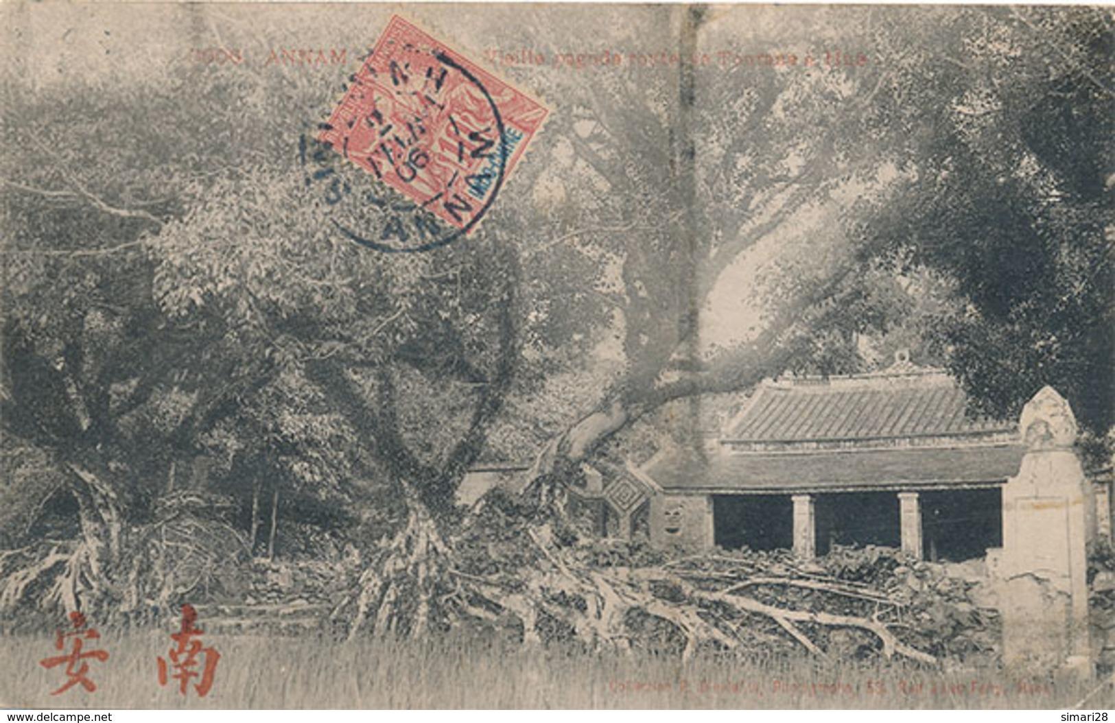HUE - N° 3606 - VIEILLE PAGODE ROUTE DE TOURANE A HUE - Vietnam