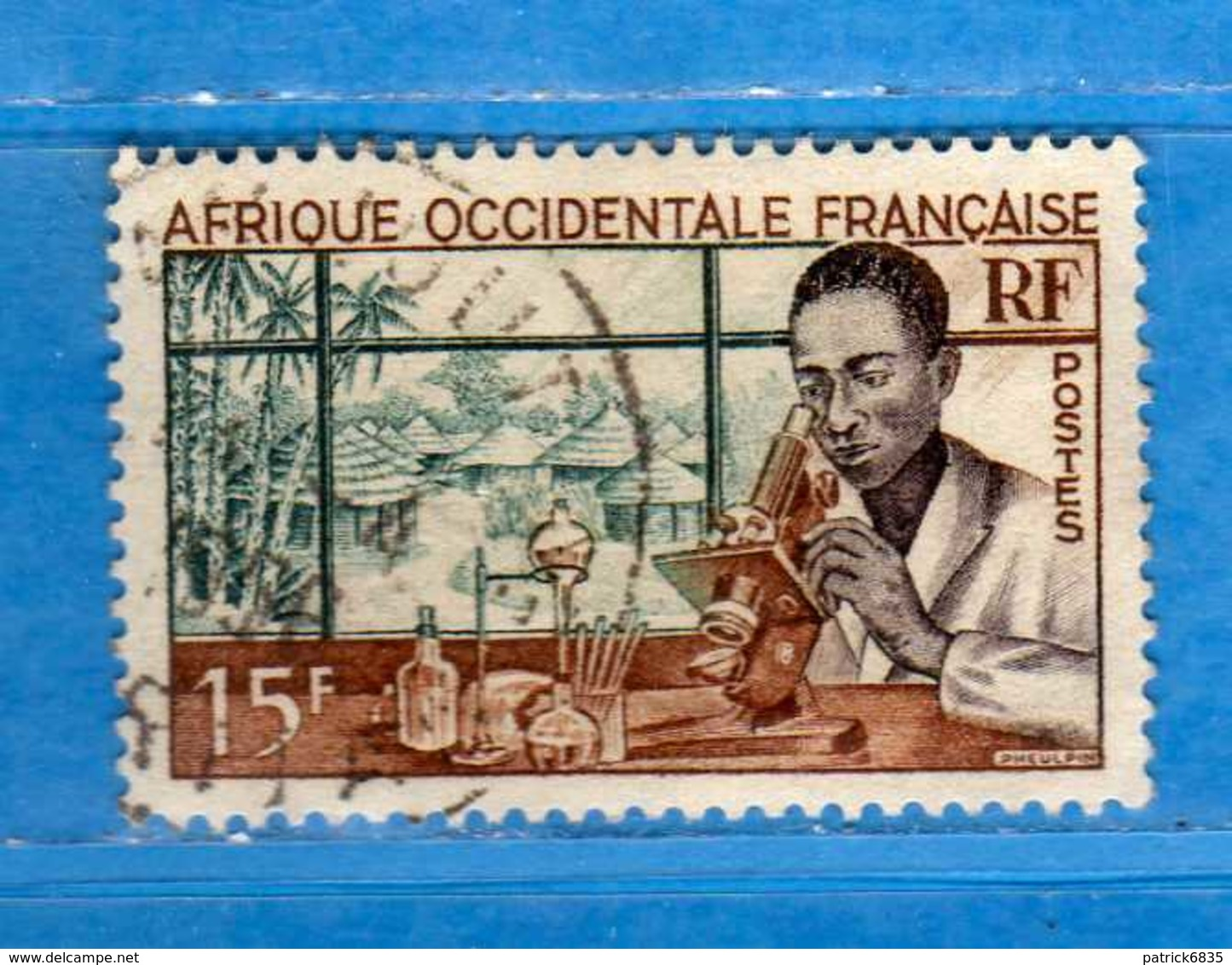 (Us3)  Afrique Occidentale Française, AOF 1953 - Yvert.48 . Oblitéré .  Vedi Descrizione - A.O.F. (1934-1959)